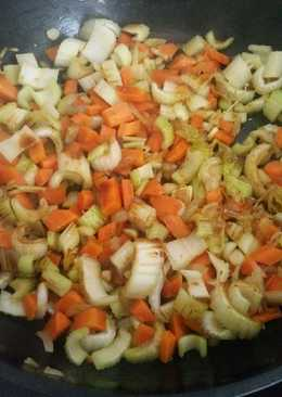 Τουρσί λαχανικών στο τηγάνι