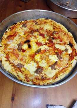 Ζυμάρι για Italian pizza (απλή και εύκολη)