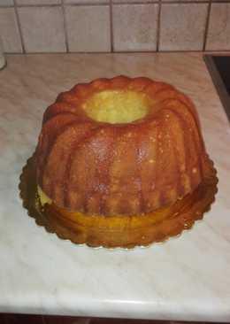 Κέικ λεμονιού με τζίντζερ