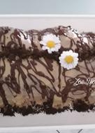 Τσουρέκι γεμιστό με παγωτό, μερέντα και μπισκότα ΟREO