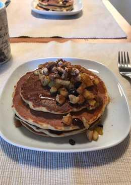 Pancakes μήλου χωρίς ζάχαρη