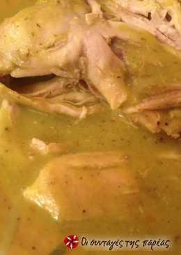 Σούπα λαχανικών βελουτέ και κοτόπουλου Χριστίνας
