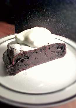 Brownies χωρίς αλεύρι και ζάχαρη
