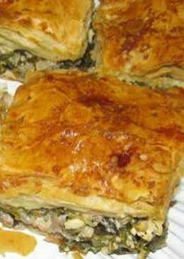 Πρασοτυρόπιτα με έτοιμο φύλλο σαν σπιτικό! #πίτες