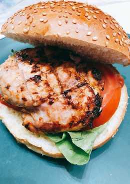 Chicken tandoori bbq sandwich