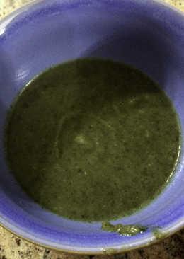 Σούπα παστινάκη με σπανάκι