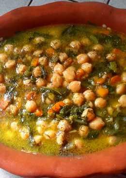 Ρεβύθια με λαχανικά