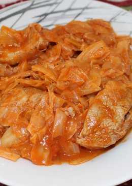 Λάχανο με χοιρινό κρέας