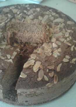 Κέικ με μπανάνα και μερέντα
