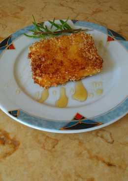 Τηγανητή φέτα με μέλι χωρίς φύλλο