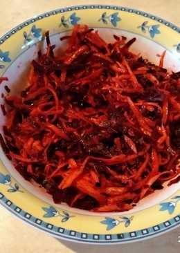 Σαλάτα λαχταριστή με παντζάρι και καρότα