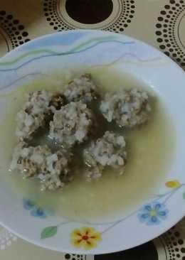 Γιουβαρλάκια χωρίς αυγό :