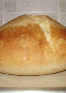 Ψωμί με προζύμι κρεμμυδιών χωρίς μαγιά