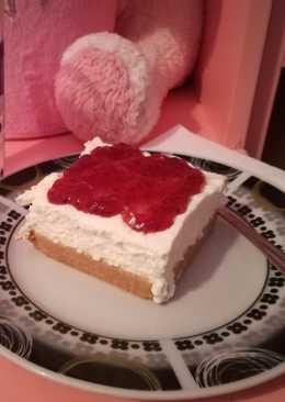 Cheesecake με παγωτό βανίλια