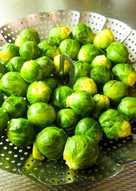 Λαχανάκια Βρυξελλών Λεμονάτα στον ατμό