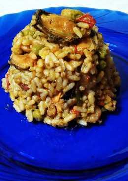 Ρύζι με θαλασσινά (Παέγια) μούρλια!