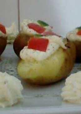 Πατάτες κρύες γεμιστές