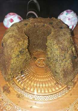 Κέικ καρότου υγιεινό με στεβια κ αλεύρι ολικής