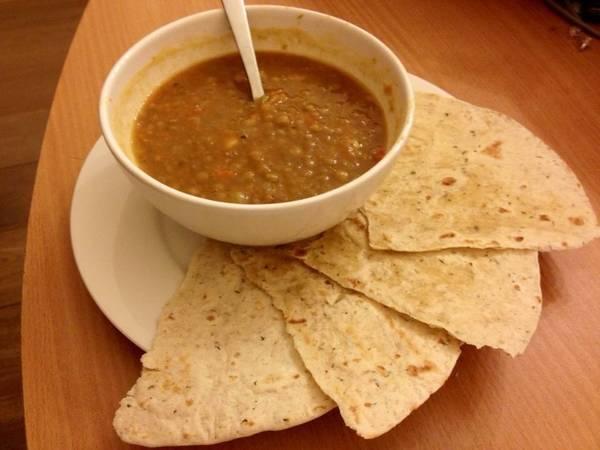 Φακές σούπα με λαχανικά ⭐️⭐️⭐️