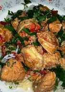 MOQUECA (Πικάντικο Βραζιλιάνικο πιάτο με θαλασσινά)
