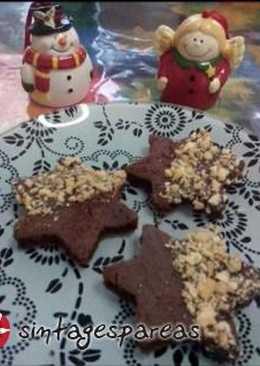 Αστέρια σοκολάτας χωρίς γλουτένη - glutenfree