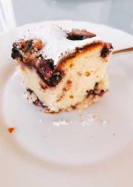 Κέικ λεμονιού με blueberries
