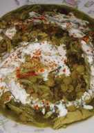 Ash με κοτόπουλο (Αφγανική κουζίνα)