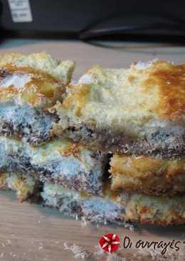 Brownies ξηροί καρποί