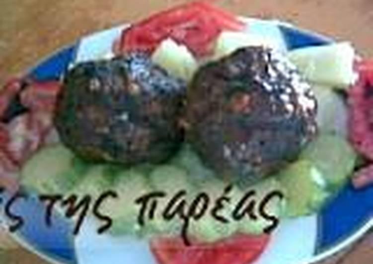 Μπιφτέκια σχάρας γεμιστά (αλα φουντουκίτσα)