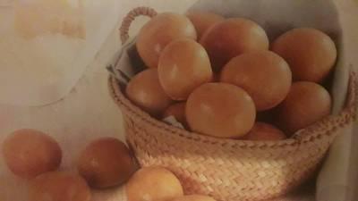 Βραζιλιάνικα ψωμάκια με τυρί (pao de queijo)