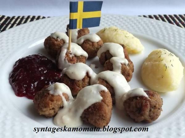 Σουηδικά κεφτεδάκια
