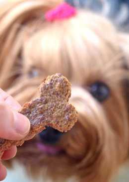Σνακ με συκώτι για σκυλάκια!