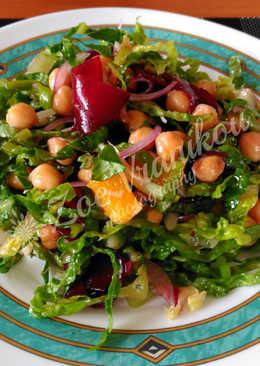 Νόστιμη σαλάτα με ρεβύθια