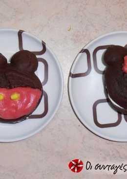 """Παιδικά Whoopie pies: """"Ο Mickey και η παρέα του"""""""