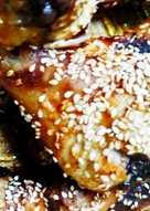 Κοπανάκια κοτόπουλου γλυκόξινα παναρισμένα με σουσαμάκι!