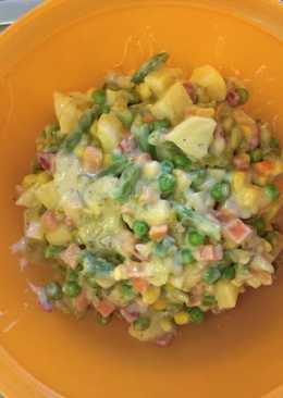 Εύκολη ρώσικη σαλάτα