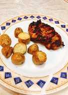 Μαριναρισμένο κοτόπουλο φιλέτο στα κάρβουνα