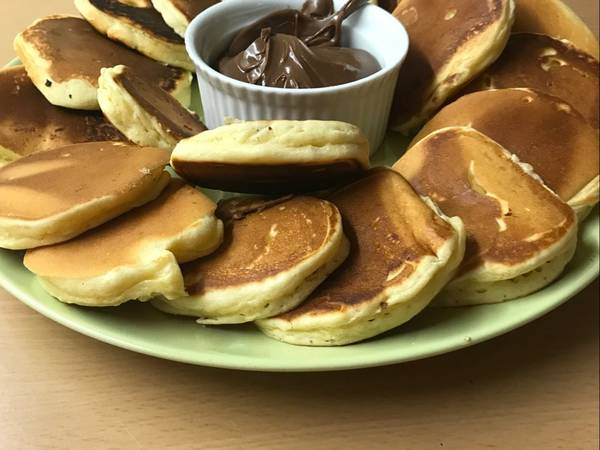 Pancakes στη στιγμή