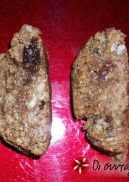 Υγιεινά παξιμάδια με αμύγδαλα και σταφίδες