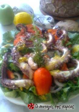 Χταπόδι σαλάτα by Litsa