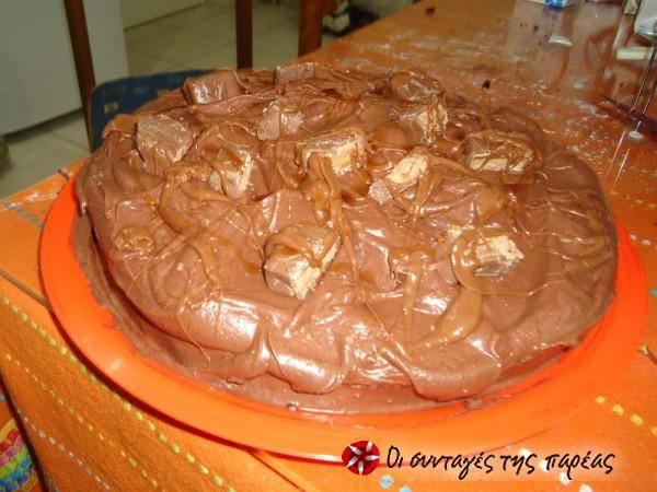 Τούρτα σοκολάτα του Άκη Πετρετζίκη
