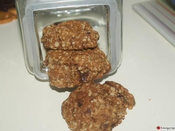 Cookies με κουάκερ