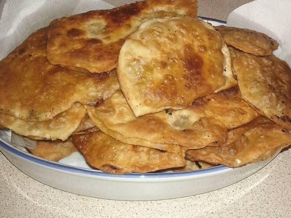 Μπολανί με πατάτα (Αφγανική κουζίνα)