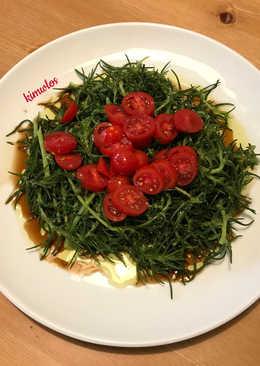 Σαλάτα αλμύρα με ντοματίνια