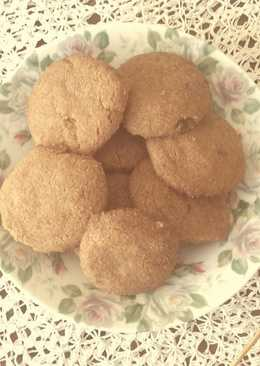 Μπισκότα μόκα νηστίσιμα