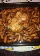 Κοτόπουλο με πατάτες!!!