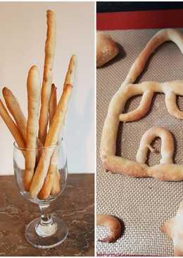Bread sticks με γιαούρτι-Στο πι και φι!