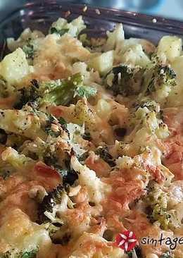 Κουνουπίδι, μπρόκολο και πατάτα
