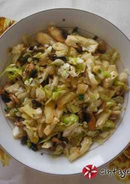 Ζεστή σαλάτα του χειμώνα