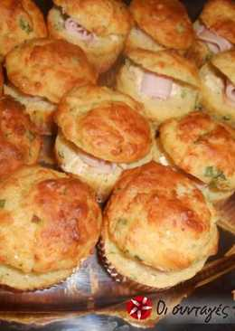 Γεμιστές μπουκιές muffins